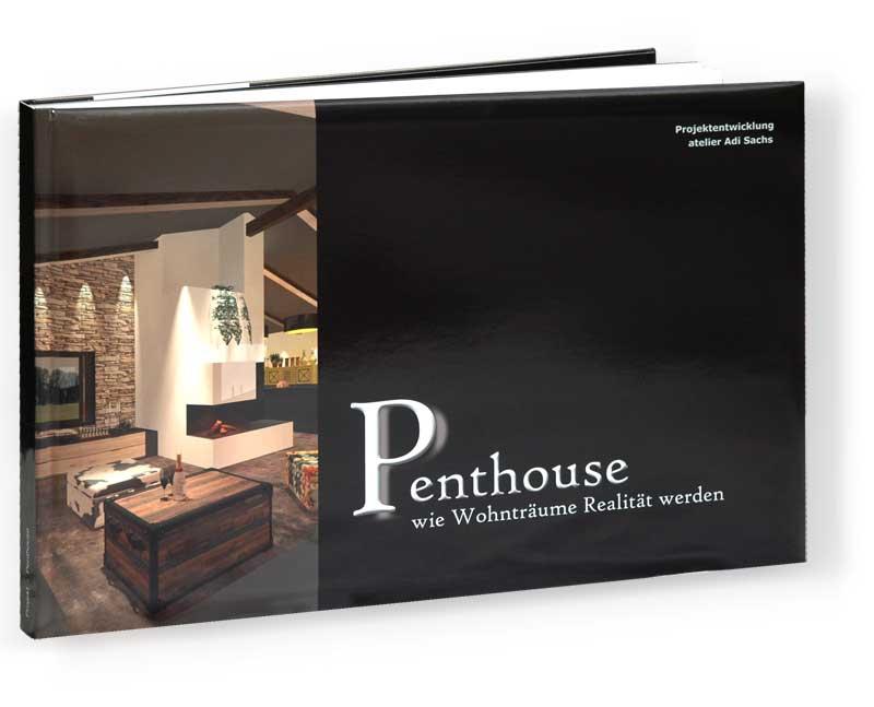 Abbildung Wohnbuch Penthouse mit ausgereifter Innenarchitektur