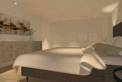 Bild Schlafzimmereinrichtung.