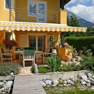 Abbildund eines Hauses mit mediterranem Flair