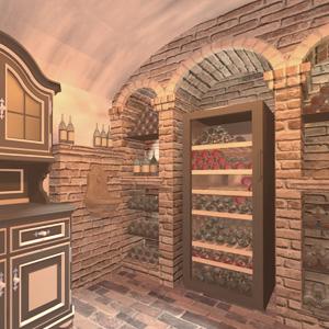 Abbildung einem Weinkeller in einem Privathaus.