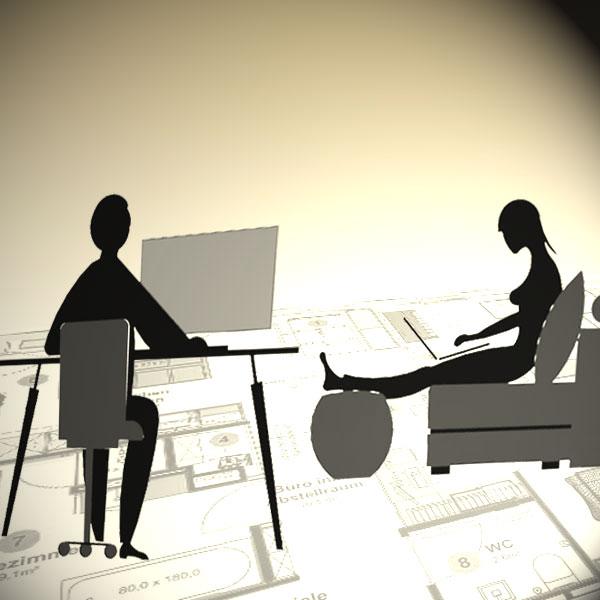 Bild live online-Einrichtungsberatung Innenraumgestaltung von atelier Adi Sachs.